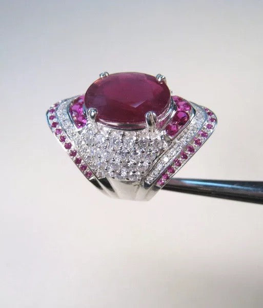 Women's Ruby Gemstone Ring