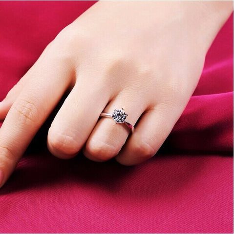 women's Crystal Ring