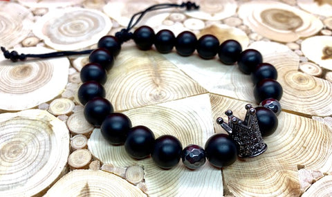 Pulsera Black Crown