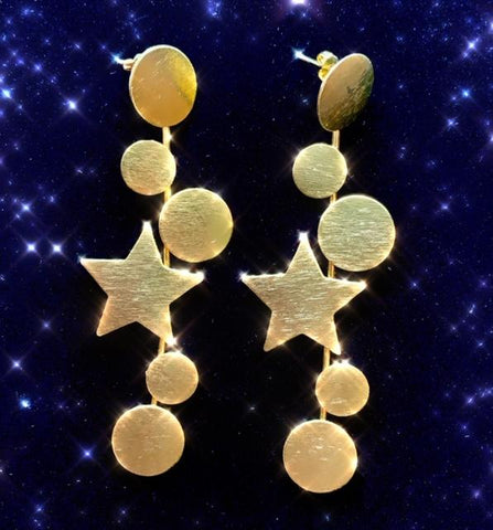 Aretes Starry Night