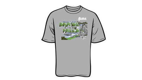 2020 USAPL Brawl in the Falls meet shirt