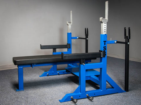Competition Bench w/ band pegs & hand jacks