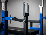 Competition Bench w/ hand jacks & band peg face saver combo (fully loaded)