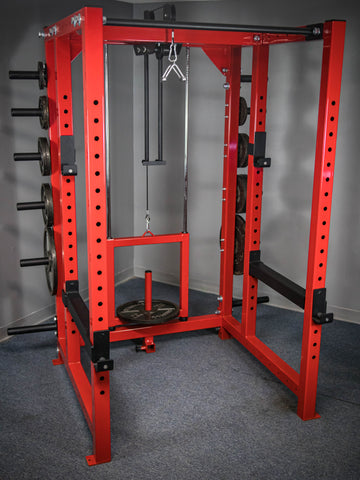 3x3 Power Rack with weight storage