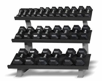 "52"" Three-tier Tray-style Rack"