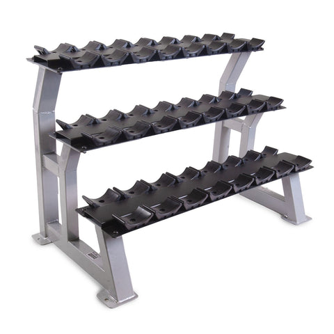 "43"" Three-tier Rack with Saddles"