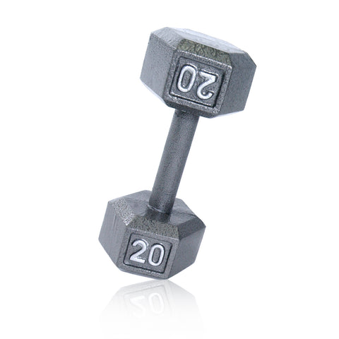 20lbs Hex Dumbbell with Straight Handle
