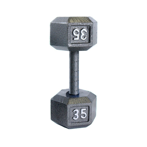 35lbs Hex Dumbbell with Straight Handle