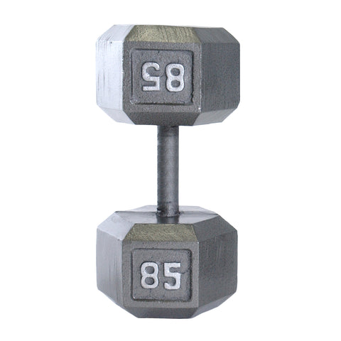 85lbs Hex Dumbbell with Straight Handle