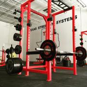 2.5x2.5 Power Rack with Weight Storage