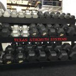 8' Heavy Duty 3-Tier Dumbbell Rack