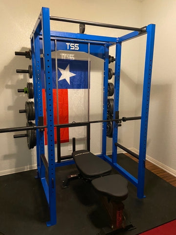 2.5x2.5 Power Rack with Weight Storage V2