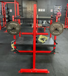 Weight Storage Pipes for Belt Squat Machine