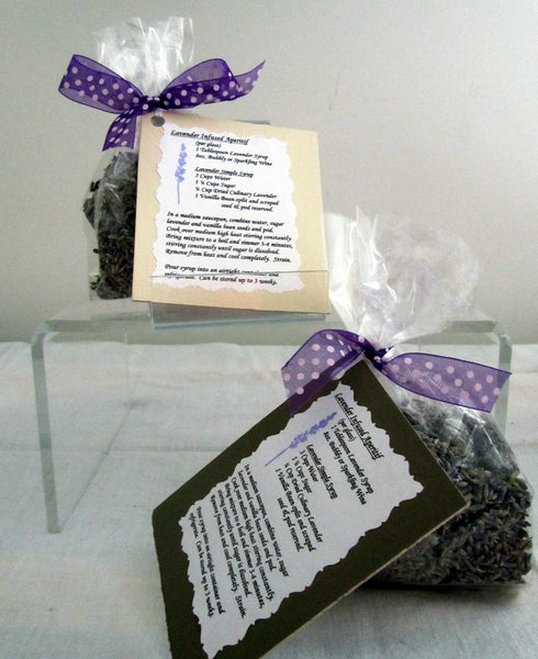 B.H. Bag of Lavender with Lavender-infused Recipe Card