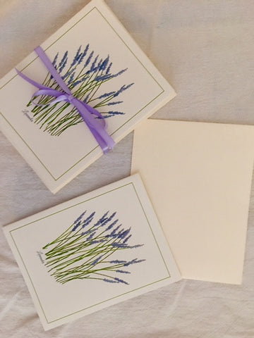 Lavender Stationary