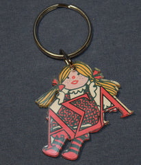 Mascot Keychain Sorority CLOSEOUT ITEMS