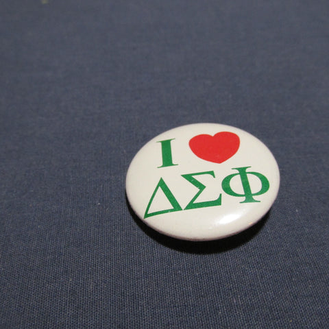 Button I Heart Fraternity