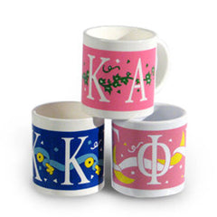 Coffee Mug Sorority CLOSEOUT ITEMS