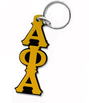 Letters Acrylic Keychain Fraternity