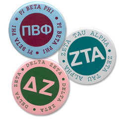 Button Circle Sorority
