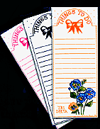Things To Do Notepad for Sorority