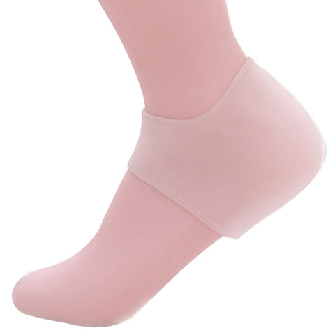 Image of Washable Skin Care Protector Heel Socks