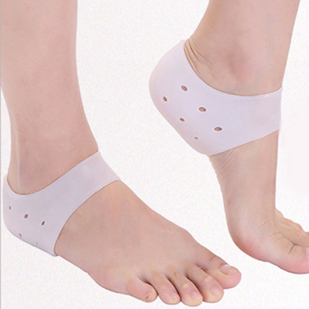 Washable Skin Care Protector Heel Socks