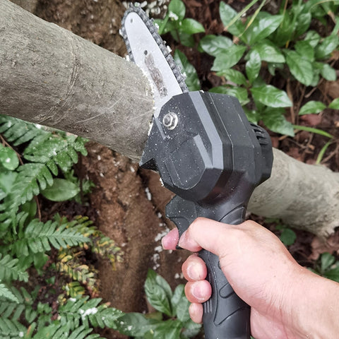 Image of Rechargeable Portable Mini Electric Chainsaw