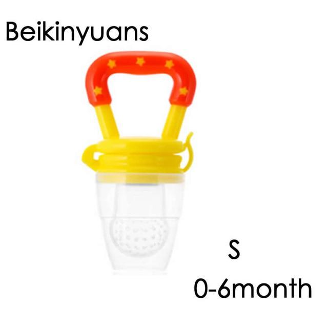 Baby's silicone soft feeding dummies pacifier