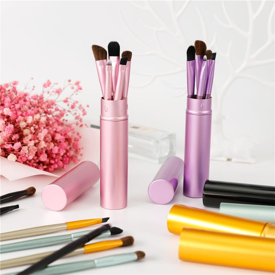 professional 5pc travel make up brushes