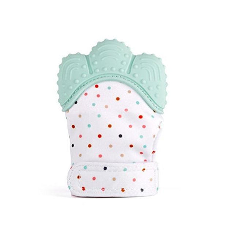 baby gloves silicone baby teething mitt
