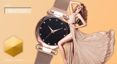Image of magnetic women watch