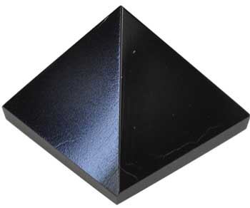 30- 35mm Black Onyx Pyramid