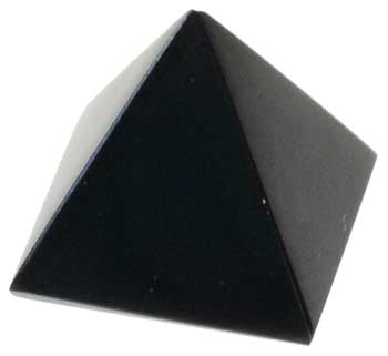 25-30mm Black Obsidian Pyramid