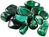 1 Lb Malachite Tumbled Stones