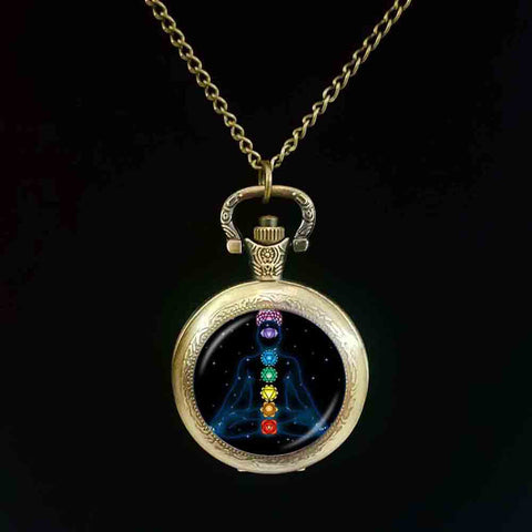 7 Chakra Pocket Watch