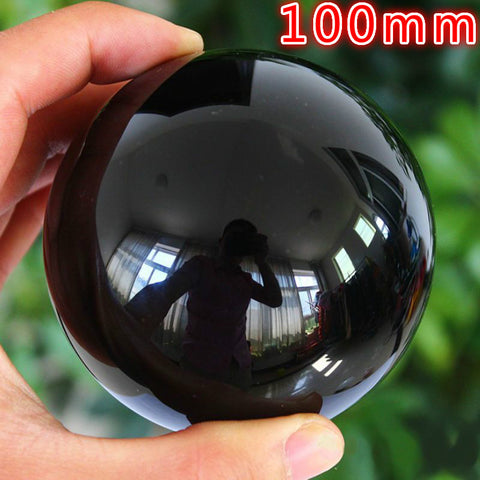 4 in Black Obsidian Crystal Ball