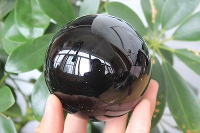 4.75 in Obsidian Crystal Ball