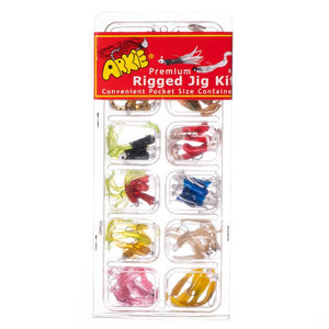 Premium Rigged Jig Kit - Arkie Lures