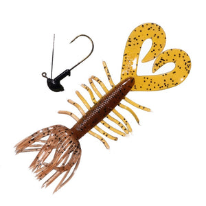 Salty Crawlin' Grub Jig - Arkie Lures
