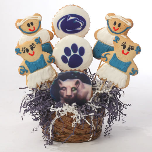 Penn State Themed Cookie Basket