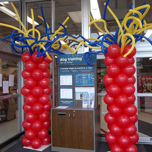 Custom Balloon Tower