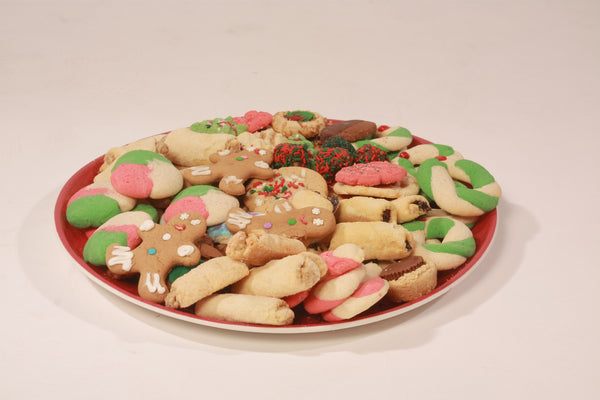 Variety of Christmas Cookies