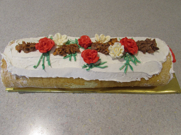 Chocolate or Vanilla Yule Log
