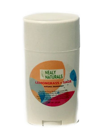 Lemongrass + Sage All Natural Deodorant Stick