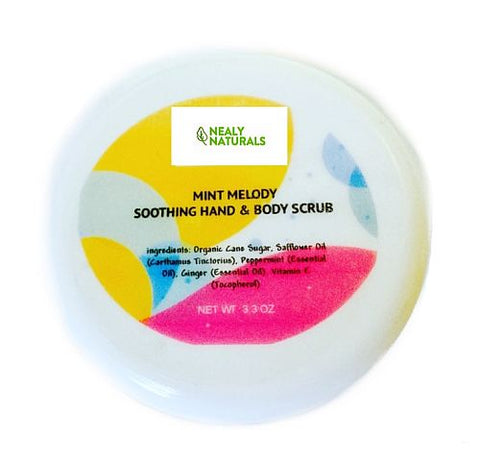Mint Melody Exfoliating Soothing Hand & Body Scrub