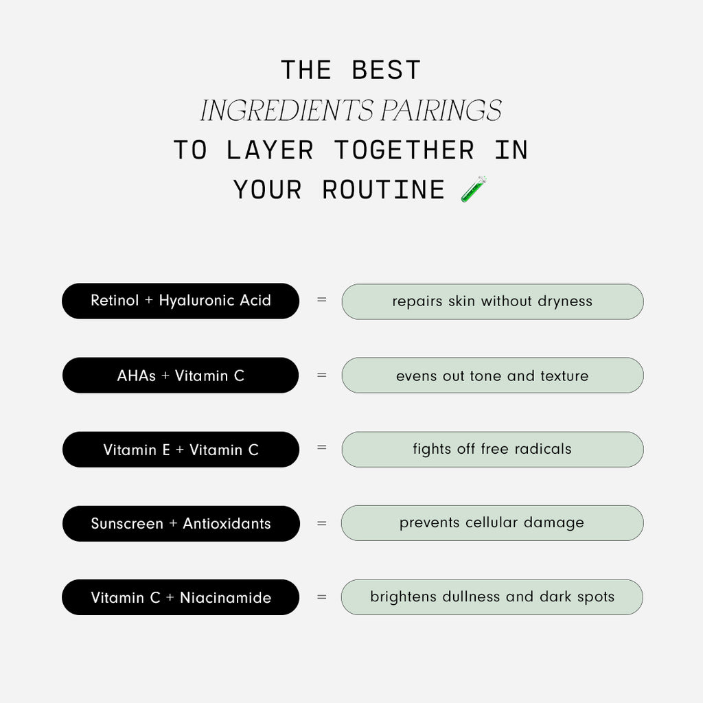 The Best Ingredient Pairings to Layer Together