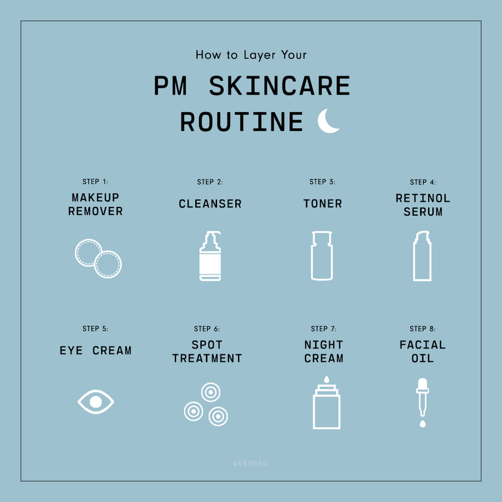 How to Layer Your PM Skincare