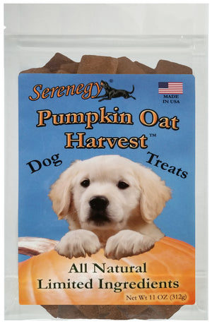 Pumpkin Oat Harvest Dog Treats