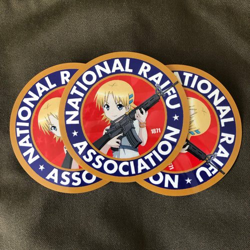 National Raifu Association Sticker 3-Pack